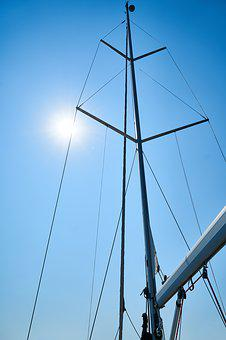 Direct, Sail, Sailboat, Blue, Travel, Marine, Ocean