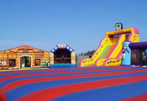 Bouncy Castles, Air Cushion, Bouncy Castle, Inflatable