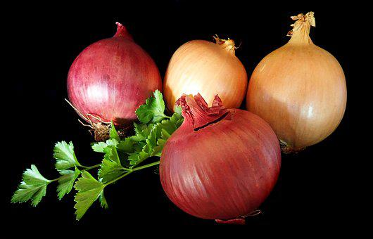Onions, Red, Brown, Vegetables, Cooking, Healthy