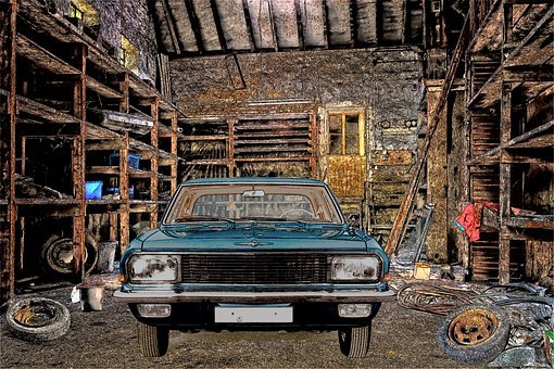 Lost Places, Old Workshop, Scale, Barn, Building