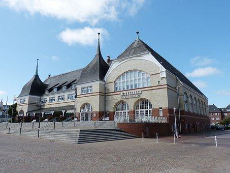 Westerland, Sylt, North Sea, Town Hall, Casino