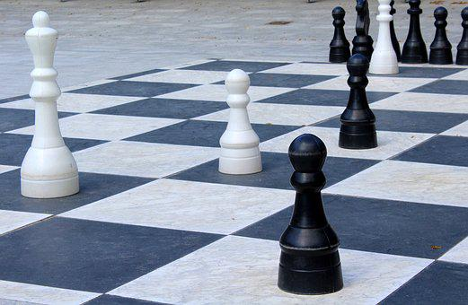 Chess, Checkerboard, Game, Pawn, Tactics, The Strategy