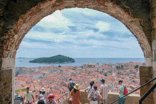 Architecture, City, Dubrovnik, Croatie, Cityscape