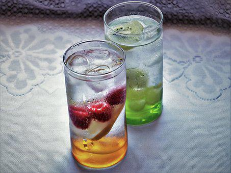 Water, Cold, Glass, Frozen, Refreshment, Detox, Cup