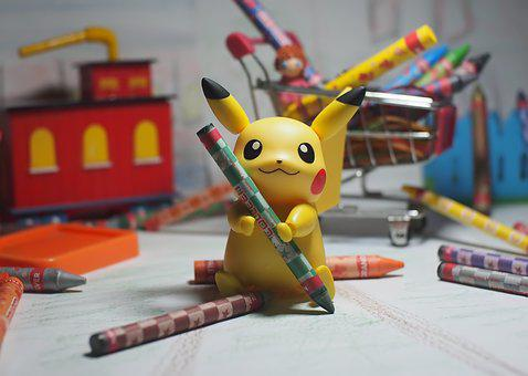 Toy, Animal, Anime, Game, Character, Pikachu, Cute