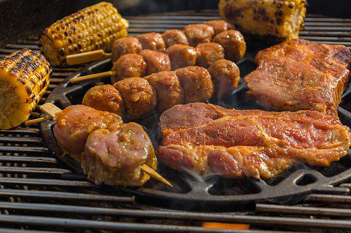 Barbecue, Grill Party, Eat, Grill, Bbq, Corn