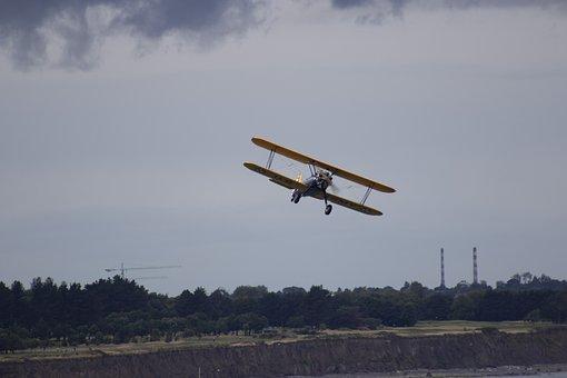 Bray, Wicklow, Ireland, Airshow, Flight, Airplane