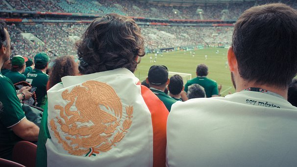 Stadium, Football, Mexico, Sports, Game, Spectators