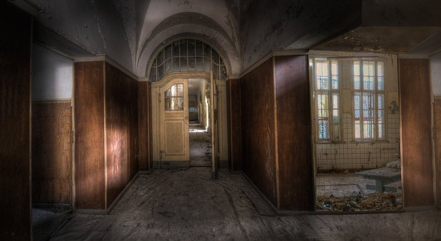 Lost Place, Rooms, Forget, Decay, Transient, Ailing
