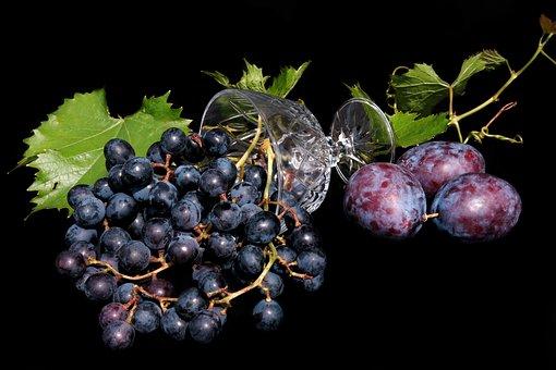 Fruit, Grapes, Fresh, Food, Healthy, Vitamins, Ripe