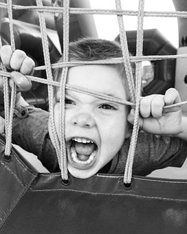 Boy, Child, Cry, Mouth, Game, Net, Network, Portrait