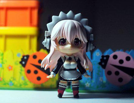 Girl, Toy, Anime, Character, Video, Game, Sonico