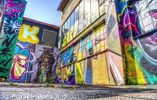 Graffiti, Wall, Art, Creativity, Facade Paint, Sprayer