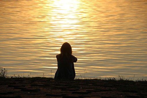 Lakeside, Meditation, Peaceful, Nature, Lake, Romantic