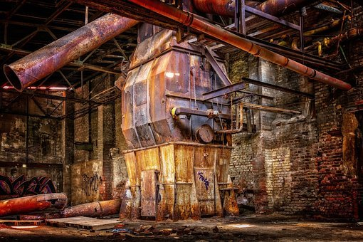 Lost Places, Factory, Industry, Blast Furnace