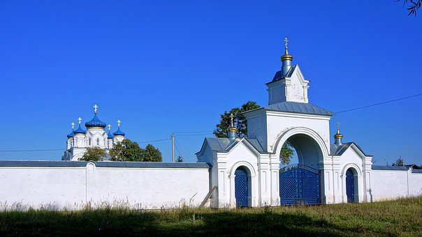 Temple, Church, Monastery, Skit, Wall, Gate, Vera