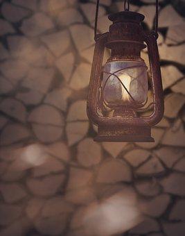 Lantern, Mood, Lamp, Petroleum, Kerosene, Light