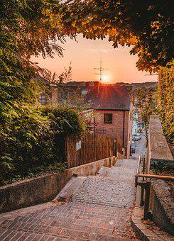 Moosburg, Sunrise, Mood, Rest, Landscape, Lighting