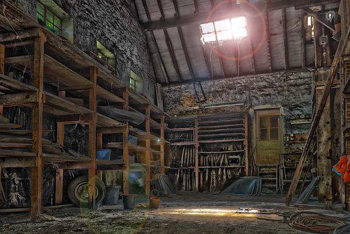Lost Places, Workshop, Old, Abandoned, Pforphoto