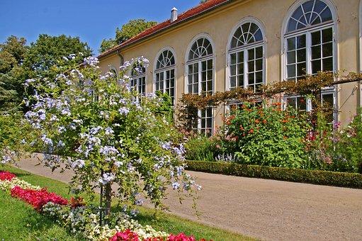 In The New Garden, Potsdam, Orangery