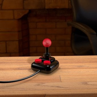 Joystick, Game Controller, Keys, Video Game, Play
