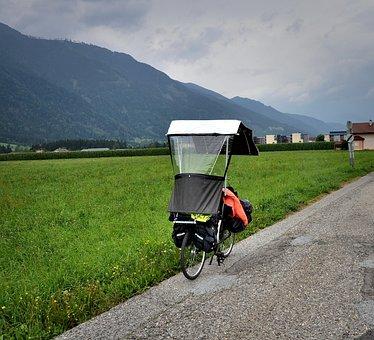Bike, The Invention, Peak, Raincoat, Protection