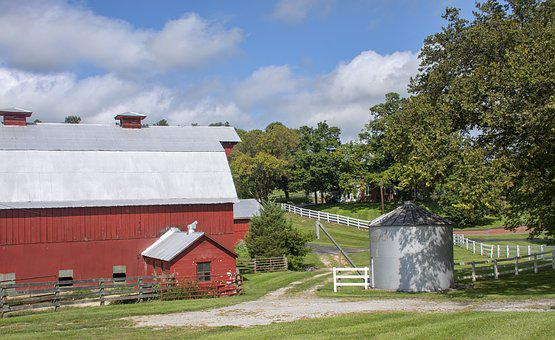 Farm, Barn, Nature, Countryside, Scenic, Outdoor