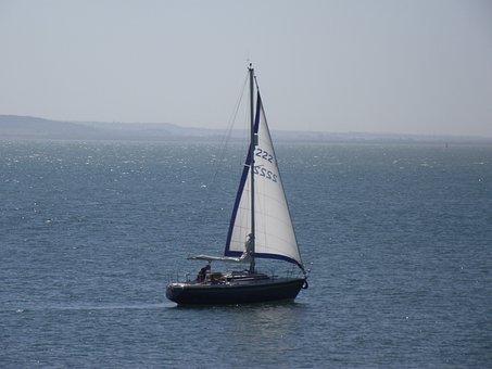 Southend-on-sea, Boat, Sea, Sailboat, Ship