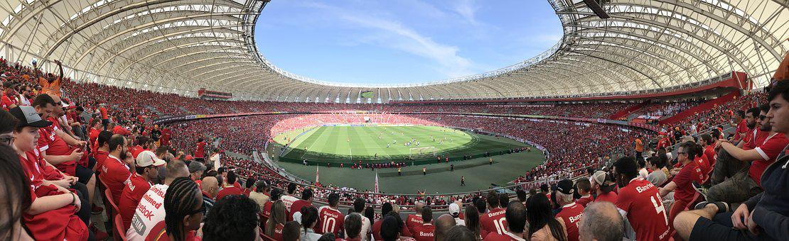 Stadium, Crowded, Football, People, Event, Spectators