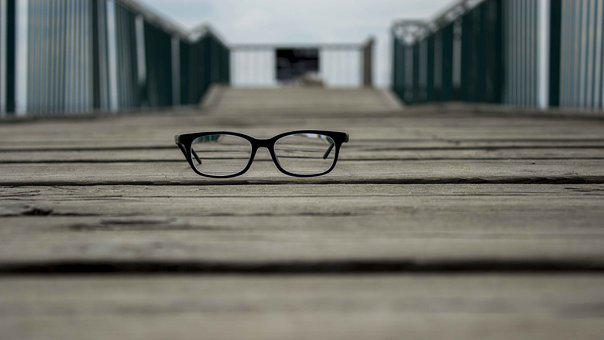 Quay, Sea, Glasses, Glasses With Diopter, Summer