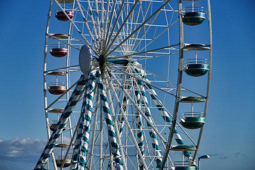 Ferris Wheel, Landmark, Royan, France, Tourism