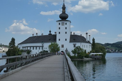 Gmunden, Seeschloss, Austria, Traunsee, Architecture