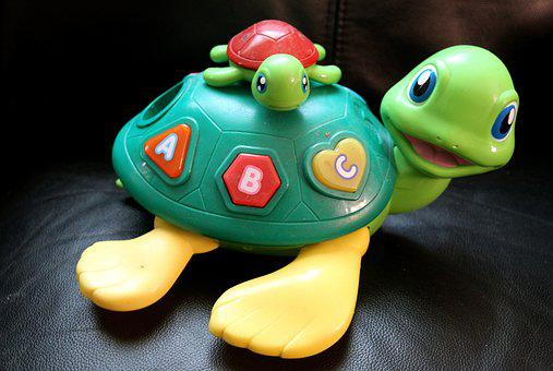 Toy, Young, Kid, Mother, Numbers, Tortoise, Turtle