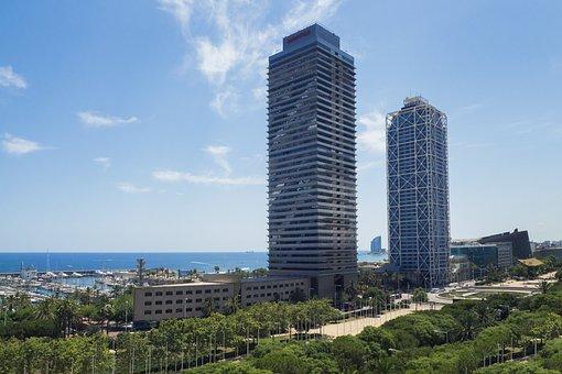 Tower, Skyscraper, City, Urban, Architecture, Buildings