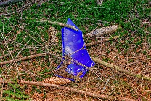 Pollution, Garbage, Plastic Waste, Plastic, Waste
