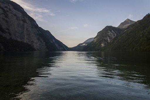 Königssee, Lake, Bavaria, Water, Alpine, Bergsee