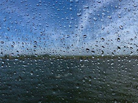 Raindrop, Disc, Drop Of Water, Wet, Water, Window