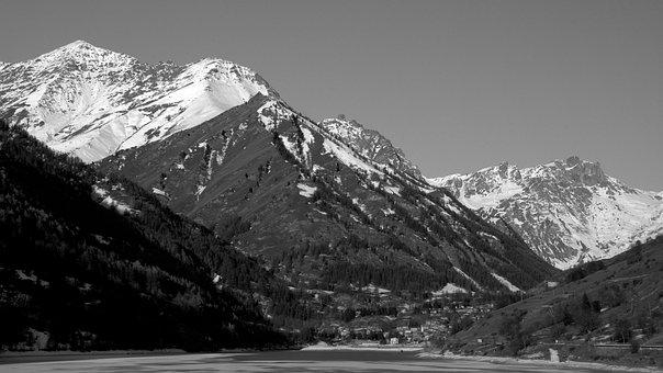 Mountain, Nature, Winter, Outdoors, Landscape, Snow