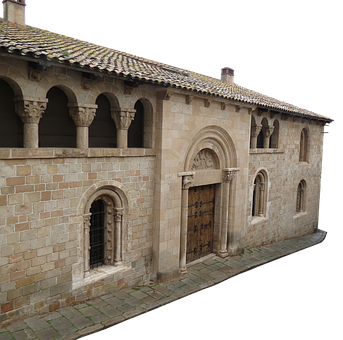 House, Monastery, Old, Stone, Building, Architecture