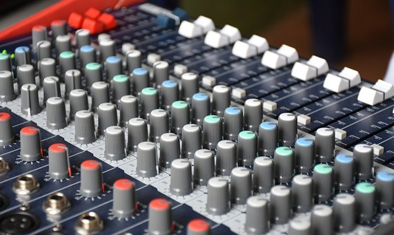 Mixer, Sound, System, Music, Audio, Dj, Volume, Stereo