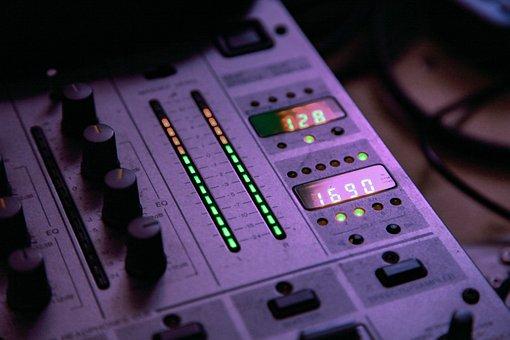 Music, Dj, Audio, Sound, Equipment, Mixer, Nightclub