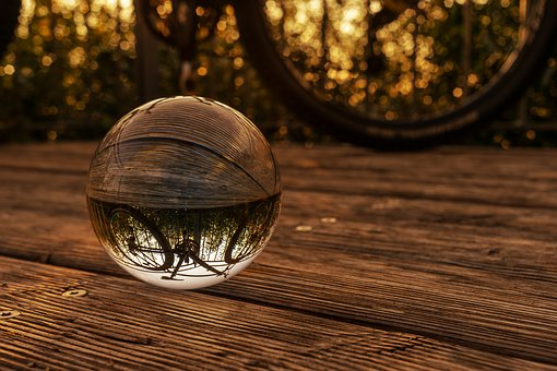 Nature, Landscape, Bicycle Tour, Glass Ball