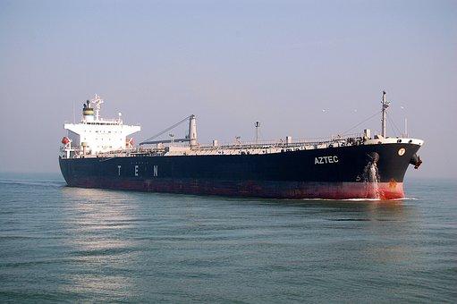 Boat, Petroleum, Port, Ship, Sea, Oil, Sky, Spring