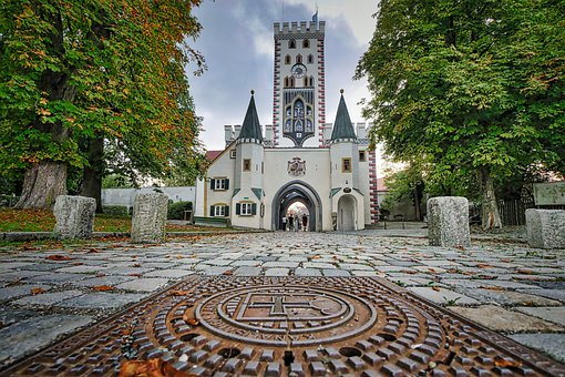 City Gate, Landsberg, Architecture, Building