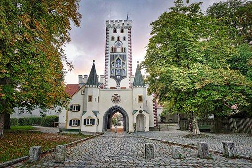 City Gate, Landsberg, Architecture, Building