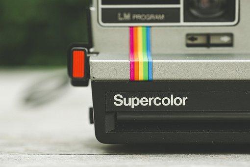 Polaroid, Camera, Instant, Right Away, Photo, Retro
