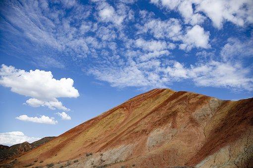 Desert, Yadan, Danxia, Canyon, Earth, Landscape