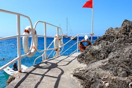 Capri, Costiera, Water, Rocks, Diving, Summer, Riva