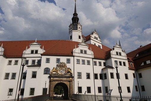 Architecture, Building, Castle, Castle Hartenfels