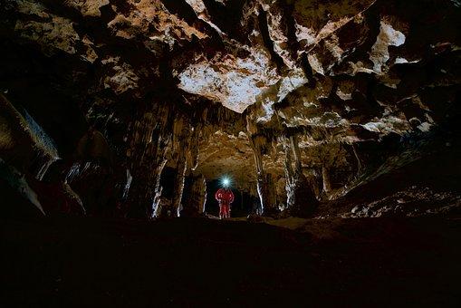 Cave, Gulf, Potholing, Geology, Nature, Sénaillac